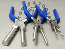 Set of 3 Piece Multisize Bail Making Pliers Jewlery Making Wire Looping Crafts