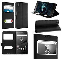 Custodia Cover Sacchetto Nero nero custodia Interno Silicone Sony Xperia XA