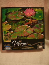 New 500 Piece Vibrant Water Lily Puzzle
