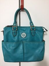 Relic Turquoise Faux Leather Shoulder Hand Bag Purse