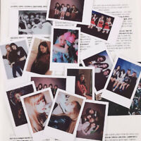 9pcs/set Kpop BLACKPINK Polaroid Photo Card Jennie Jisoo Lomo Photocard Cards