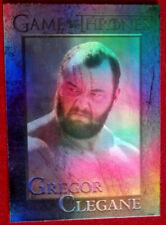 GAME OF THRONES - SER GREGOR CLEGANE - Season 4 - FOIL PARALLEL Card #96