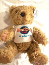 Hard Rock Cafe Atlantic City Plush Herrington Bear with Tee Shirt