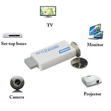 NEW Wii to HDMI Converter Adapter outputs video Audio Full HD 1080P Wii2HDMI