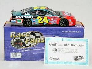 Jeff Gordon 2001 #24 DuPont Color Chrome Monte Carlo 1:24 Action Limited /2508