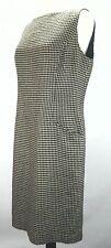 EUC $398 Ralph Lauren Womens Houndstooth Brown Tunic Fashion Dress Ultra Rare