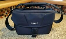 Black Canon Camera Bag for DSLR SLR w/ strap padded