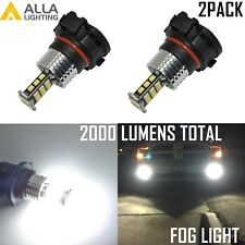 Alla Lighting LED 5202 5201 Driving Fog Light Bulb/Lamp Replacement 6000K White