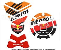 HONDA REPSOL RED B Mod. 2 HONDA Kit PROTECTION RESERVOIR et CACHE GAZ