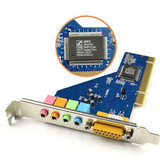 Hot 4 Channel 8738 Chip 3D Audio Stereo PCI Sound Card Win7 32/64 bit Tool