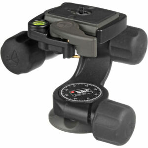 "Manfrotto 460MG 3-Way, Pan-and-Tilt Head with 1/4""-20 Mount. No Fees! EU Seller!"