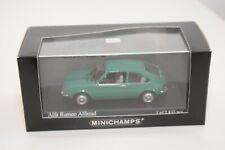 FF 1:43 MINICHAMPS ALFA ROMEO ALFASUD 1972 GREEN MINT BOXED