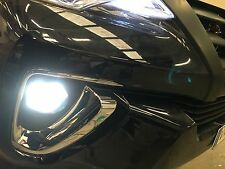2016 Toyota Fortuner foglights H16 30W Super White LED globes/bulbs replacement