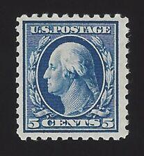US #428 1913-15 Blue Wmk 190 Perf 10 Mint OG LH F-VF Scv $32.50