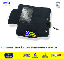 TAPPETINI TOYOTA YARIS 2011 IN POI 1 TAPPETINO AUTO PER GUIDATORE TAPPETI MOQUET