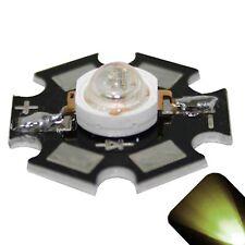 5 x LED 3 Watt Warm Soft White Star Bright Wide Angle High Power LEDs 3w w DIY