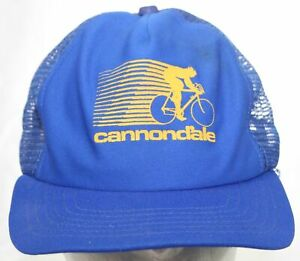 VTG Cannondale Bicycles Trucker Hat Road Mountain Biking US Cap Inc Made in USA