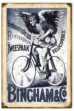 Bicycle Rotterdam Velocipedes Bingham & Co. Sign