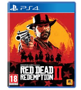RED DEAD REDEMPTION 2 PS4 VIDEOGIOCO PLAY STATION 4 GIOCO ITALIANO GTA NUOVO