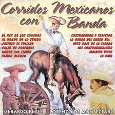 Gerardo Reyes, Lorenzo de Monteclaro Corridos Mexicanos Con Banda CD New