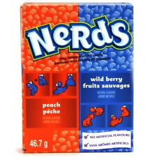 Wildberry & Peach Nerds 46g (1.65 oz)Candy American  Import (Pack of 8