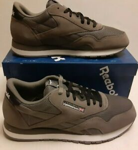 NIB Men's Reebok Classic Nylon gray  Mens 10