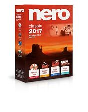Nero 2017 Classic - Multimedia Suite for Windows - Brand New and Factory Sealed!
