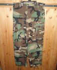 TROUSERS HOT WEATHER  WOODLAND CAMOUFLAGE PATTERN COMBAT SMALL SHORT