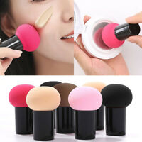 New Women Powder Puff Sponge Makeup Face Coverup Cosmetic Tool Smooth Soft