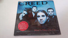 "CREED ""WHAT'S THIS LIFE FOR"" CD SINGLE 2 TRACKS NUEVO NEW"
