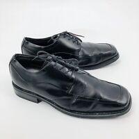 Florsheim Men's Cornell Dress Shoes Size 10 Black Leather Oxford Square Toe