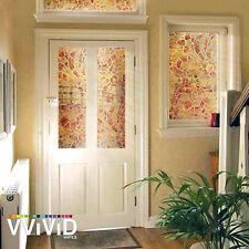 """Vvivid Autumn Mosaic Pattern 36"""" x 60"""" Window Film"""