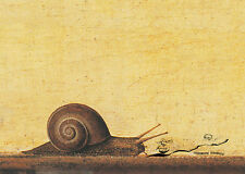 Scheda d'arte: Francesco del Cossa-Annunciazione (dettaglio)/LUMACA