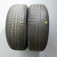 2x Pirelli Cinturato P7 MO * 225/55 R17 97Y DOT 3816 7 mm Sommerreifen