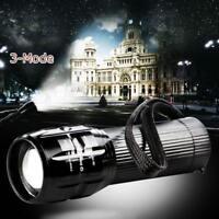 2000 Lumen zoombare Q5 LED 3 Modus Taschenlampe Zoom Lampe Licht AAA