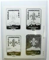 1967 World Jamboree Uncut Original Artwork Press Photos Idaho, USA World Scout