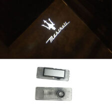 Car Door Lights Projector Welcome Logo lamp Emblem 3D Puddle Lights For MASERATI