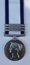 Full Size Naval General Service Medal with Trafalgar/Copenhagen 1801/Nile Clasps