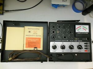 Sencore TC154 Tube Tester, Good Shape, Working and Calibrated