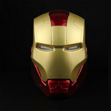The Avengers Iron Man Helmet Scale 1:1 With Light Wearable Mask Cosplay Props