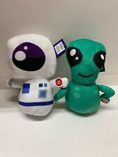 Over The Moon UFO Toy ALIEN + Spaceman Astronaut Plush ~New
