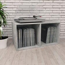 vidaXL Book Cabinet/room Divider Concrete Grey Chipboard Home Display Rack