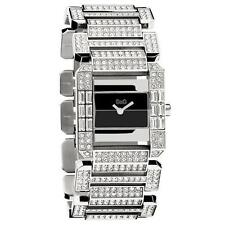 NEW Dolce & Gabbana DW0218 Royal Stainless Crystal Accented Women's Watch $425