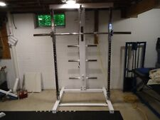 IRONMASTER 1000 SELF SPOTTING SMITH MACHINE HIGH CABLE HOME GYM EQUIPMENT IM