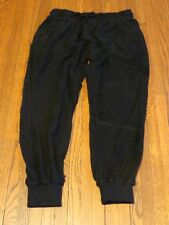 Men's Publish Brand Sprinter Distressed Black Skinny Jogger Pants sz 33
