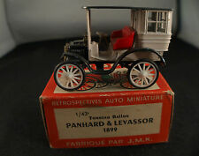 Rami jmk panhard & levassor barrel ball 1899 new in box mib 1:43