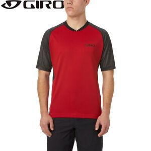 Giro Xar MTB Mens Jersey - Dark Red - S M L XL