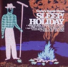 GORKY'S ZYGOTIC MYNCI - Sleep / Holiday (CD 2003) with Slipcase Indie Rock *EXC