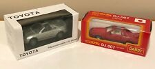 Lot of 2 Toyota MR2 Tomica Dandy and Australian Promo 1/43