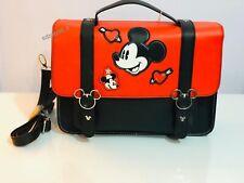 Ladies Disney Mickey Minnie Mouse Satchel Crossbody Bag Primark